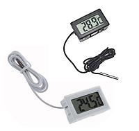 Термометр Цифровой LCD Градусник выносной датчик