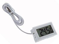 Термометр цифровой TPM-10 встраиваемый градусник Белый