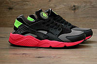 Мужские кроссовки Nike Air Huarache Run Hyper Punch (найк хуарачи, реплика) (реплика), фото 1