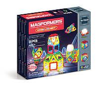 Магнитный конструктор Magformers Неоновый с LED подсветкой, 31 элемент