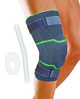 Бандаж коленный с силиконовым наколенником, мягкими шинами и стабилизирующими ремнями Genucare Comfort C plus