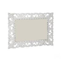 Зеркало ИМПЕРИЯ 1.2х1.0м белый глянец от Миро-Марк, фото 1