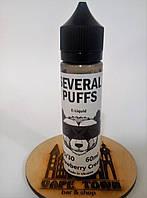Жидкость Several Puffs Strawberry Cream (0 мг/мл) 60ml.