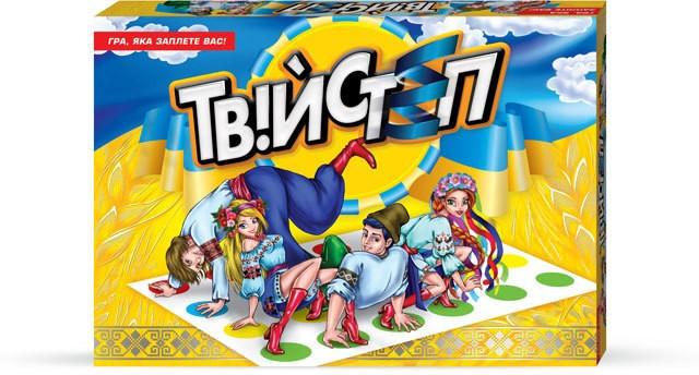"""Підлогова гра """"Твійстеп"""""""