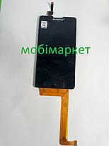 Модуль (сенсор + дисплей) Lenovo P780  чорний, фото 2