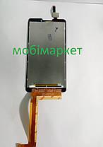 Модуль (сенсор + дисплей) Lenovo P780  чорний, фото 3