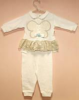 Нарядный костюм для девочки кофта и штанишки