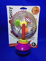 Развивающая игрушка Sassy США на присоске