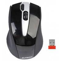 A4 TECH G9-500H-1 Nano Black + Silver 3btn + whl Holeless