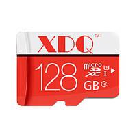 Микро sd карта памяти на 128 Gb, с 10-м классом скорости