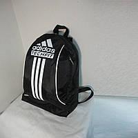 Рюкзак спортивный Adidas маленький для детей и взрослых черно-белый