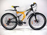 """Велосипед горный AZIMUT Blaster 26""""127G-FR-D"""