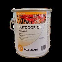 Террасное масло OUTDOOR-OIL (bankirai, natur, teak) 1-компонентное террасное масло с растворителем, 3 л.