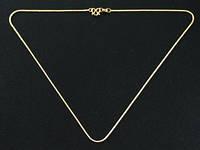 Цепочка на шею золотистая