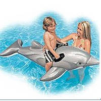 Надувной плот дельфин Intex