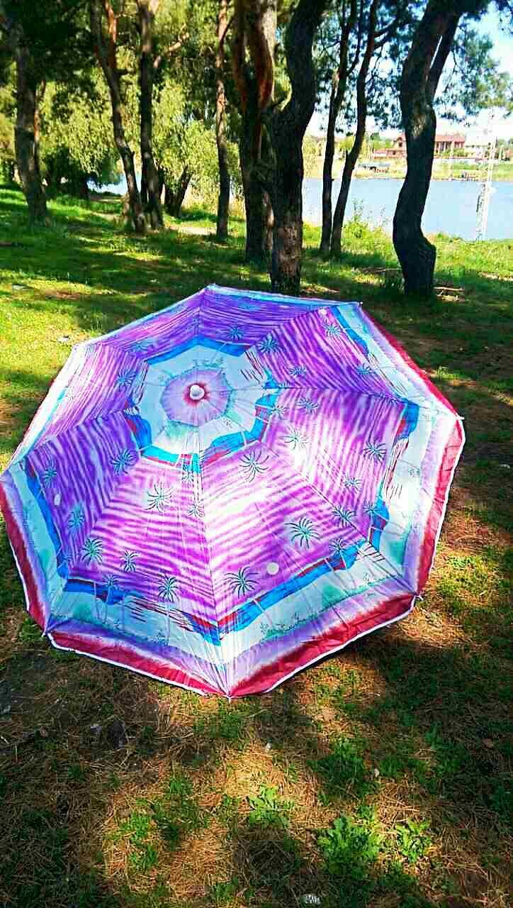 Зонт пляжный, торговый угловой Gansini Palm Purple 180 см - Smartoff в Харькове
