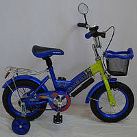Велосипед детский Rueda GALLOP 12 дюймов синий