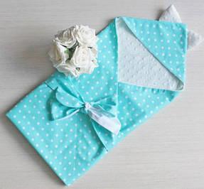 Конверты, пледы, пеленки, полотенца для новорожденных