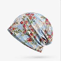 Женская демисезонная шапка.