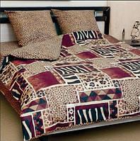 Комплект постельного белья полуторное ТЕП Зебра 572