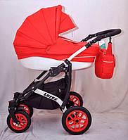 Детская универсальная коляска 2в1 Lorex цвет красный