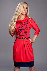 Красивое нарядное женское платье с перфорацией, фото 3