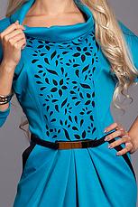 Красивое нарядное женское платье с перфорацией, фото 2