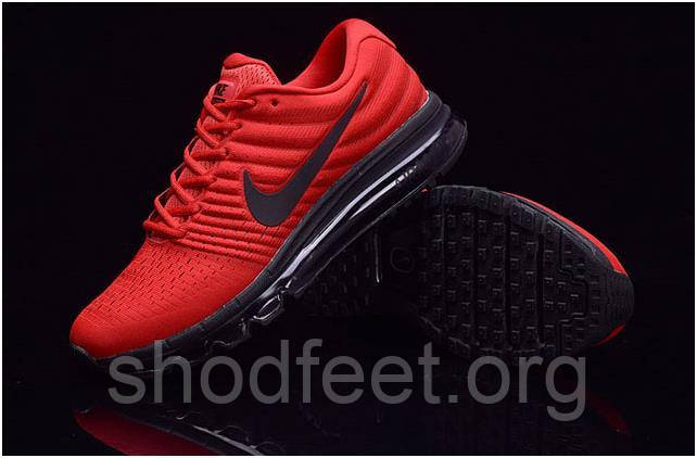 Мужские кроссовки Nike AIR MAX  2017 Black Red