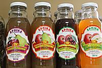 Сок яблочно-вишневый, 0.3 л