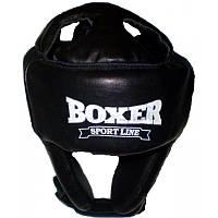 Шлем каратэ Boxer кожа L