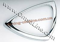 Окантовка дверных ручек Omsa на Smart ForTwo 1998-2006