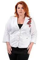 Пиджак женский с вышивкой р50-60