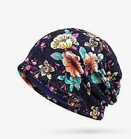 Женская жаккардовая шапка .