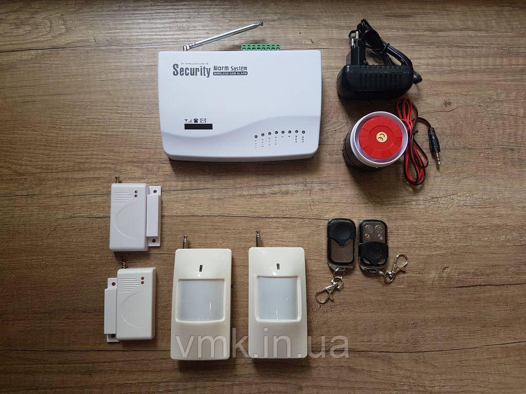 """Комплект Беспроводной GSM сигнализации """"Стандарт"""" № 3"""