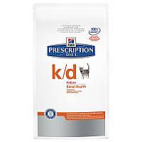 Hills Prescription Diet Feline k/d 5кг -корм для кошек  (4308) почечная или сердечная недостаточность