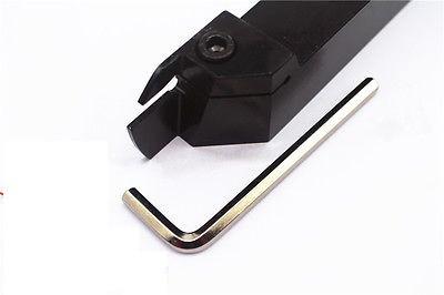 MGEHL2020-3 Резец отрезной, канавочный (державка токарная отрезная канавочная со сменной пластиной)