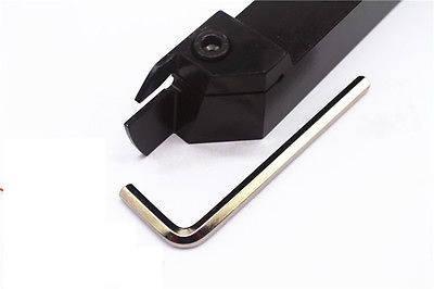 MGEHL2020-3 Резец отрезной, канавочный (державка токарная отрезная канавочная со сменной пластиной), фото 2