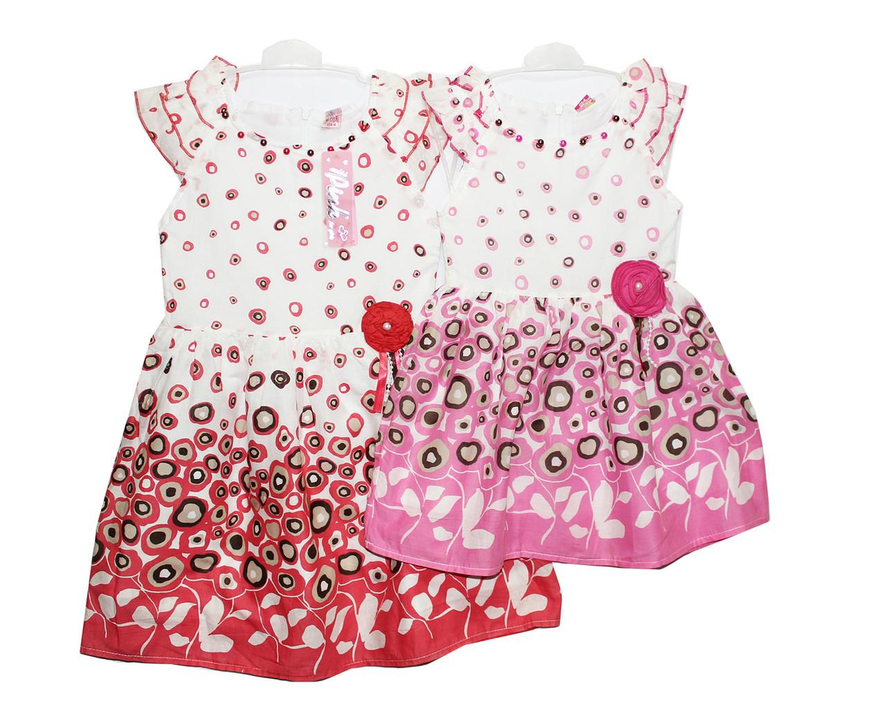 Платья детские на лето Pink 0891