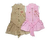 Платья детское с бантиком на лето #752, фото 1