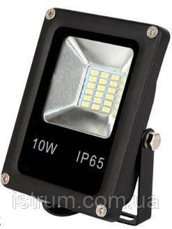 Прожектор светодиодный LED-SLE-10Вт 220В 800Лм 6500К SLIM ELITE