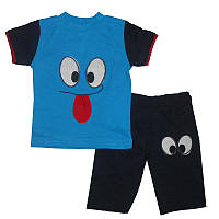 Костюм для мальчика 1-3 года(86-98 ) 300 футболка и шорты