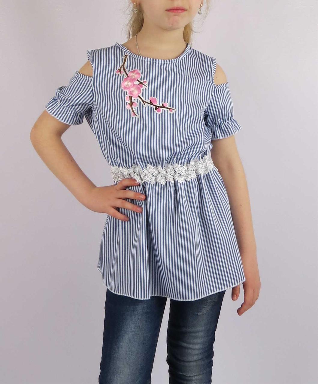 Платье сакура код 612 размеры от 116 см до 134 см (от 5 до 9 лет), фото 2