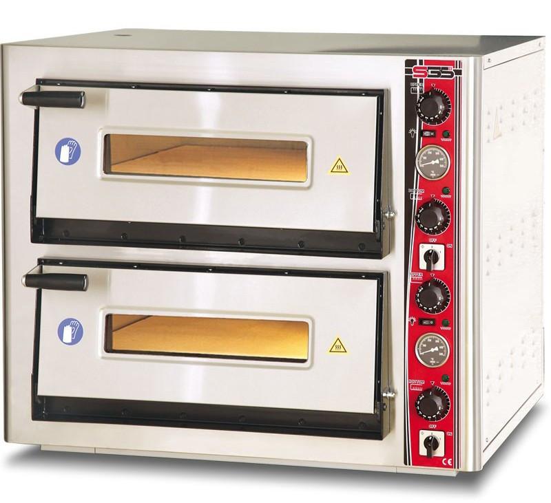 Печь для пиццы SGS PO 6262 DE с термометром