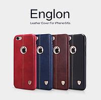 Кожаный чехол накладка Nillkin Englon для Apple iPhone 6 6s (4 цвета)