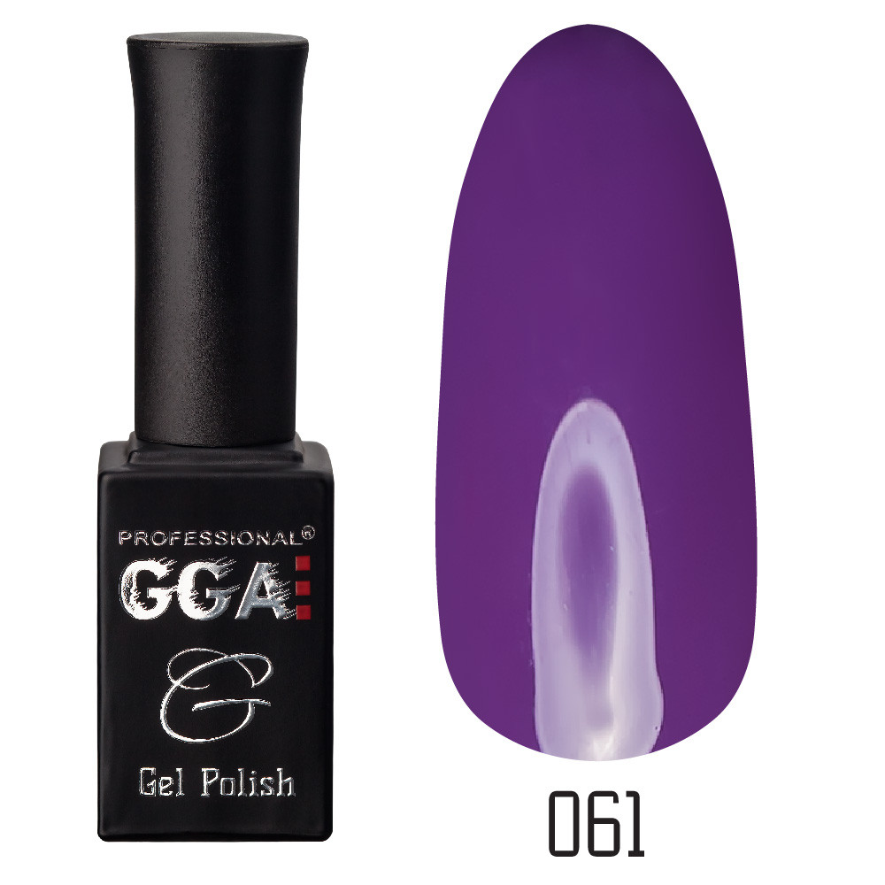 Гель-лак GGA Professional №61 (purple taupe), 10ml