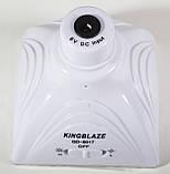 Светильник кемпинговый + зарядка от солнечной батареи + пульт, KingBlaze, GD-5017, фото 5