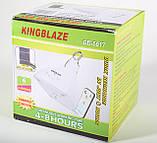 Светильник кемпинговый + зарядка от солнечной батареи + пульт, KingBlaze, GD-5017, фото 7
