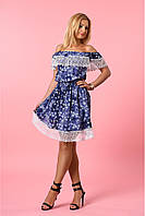 Красивое платье в романтическом стиле