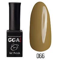 Гель-лак GGA Professional №66 (hansa yellow), 10ml