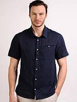 Рубашка из натрурального льна с коротким или длинным рукавом. Любой размер, разные цвета, фото 1